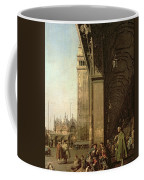 Piazza Di San Marco And The Colonnade Of The Procuratie Nuove Coffee Mug