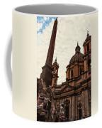 Piazza Navona At Sunset, Rome Coffee Mug
