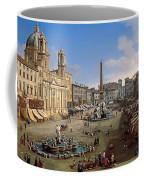 Piazza Novona - Rome Coffee Mug