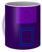 Piazza Purple Coffee Mug