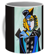 Picasso By Nora  The Queen Coffee Mug