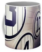 Pick A Number Coffee Mug