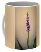 Pickerel Rush Pond Flower Painting Coffee Mug