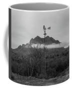 Picket Post Windmill Bw Coffee Mug