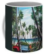 Picking Coconuts .. Mayaro Coffee Mug