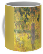 Picking Fruit From A Tree Coffee Mug