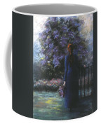 Picking Lilacs Coffee Mug