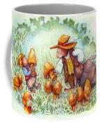 Picking Mushrooms Coffee Mug