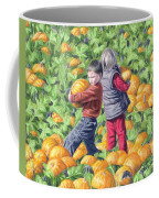 Picking Pumpkins Coffee Mug