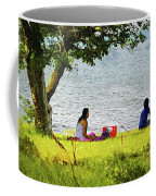 Picnic And Fishing Coffee Mug