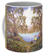Picnic By A Lake Coffee Mug