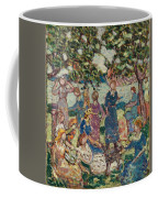 Picnic By The Inlet Coffee Mug