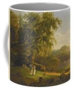 Picnic By The Lake Coffee Mug