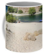 Picnic On Lake Mohave Coffee Mug