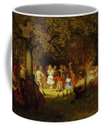 Picnic Party In The Woods Coffee Mug