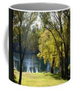 Picnic Spot On Spokane River Coffee Mug