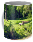 Picnic Table Coffee Mug