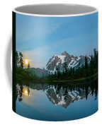 Picture Lake At Night Coffee Mug