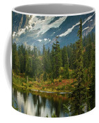 Picture Lake Vista Coffee Mug