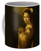 Picture Of A Young Girl Coffee Mug by Govaert Flinck