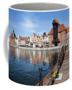 Picturesque City Of Gdansk In Poland Coffee Mug