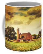 Picturesque North Dakota Farm Coffee Mug