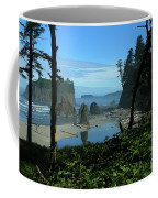 Picturesque Ruby Beach View Coffee Mug