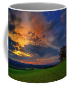 Picturesque Rural Sunset Coffee Mug