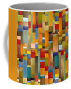 Pieces Parts Coffee Mug by Michelle Calkins