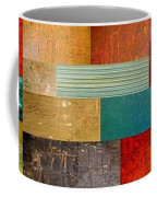 Pieces Project V Coffee Mug by Michelle Calkins