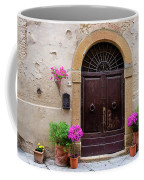 Pienza Doorway Coffee Mug