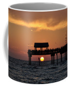 Pier 60 Clearwater Beach - Watching The Sunset Coffee Mug