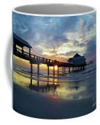Pier 60 Sunset Coffee Mug
