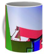 Pier Abstraction Coffee Mug