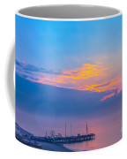 Pier Before Sunrise Coffee Mug