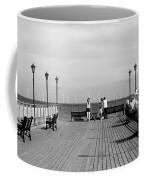Pier End View At Skegness Coffee Mug
