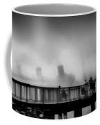Pier Fishing Q M Coffee Mug