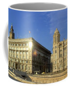 Pier Head Liverpool Panorama 2 Coffee Mug
