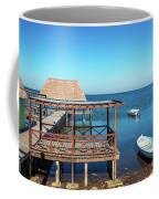 Pier In Champoton, Mexico Coffee Mug