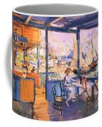 Pier In Gurzuf  Coffee Mug