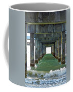 Pier Into The Sunset Coffee Mug