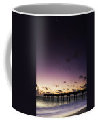 Pier Moon And Venus Coffee Mug