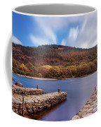Pier On The Upper Lake In Glendalough - Wicklow, Ireland Coffee Mug by Barry O Carroll