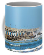 Pier Surf Coffee Mug