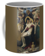 Pieta Coffee Mug by William Adolphe Bouguereau