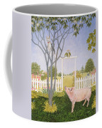 Pig And Cat Coffee Mug