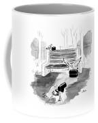Pigeon Lunch Break Coffee Mug
