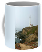 Pigeon Point Light In A Mist Coffee Mug