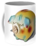 Piggy Coffee Mug by Kelley King
