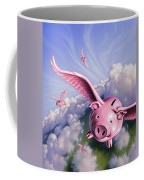 Pigs Away Coffee Mug
